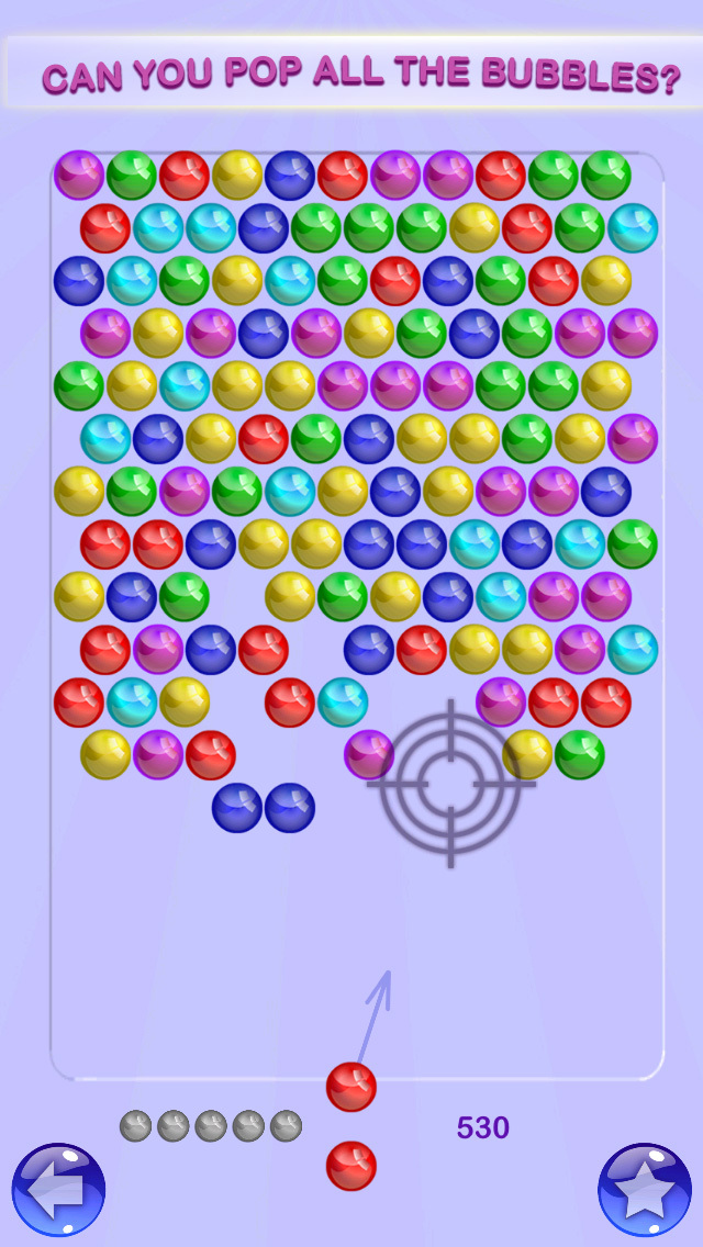 Bubble Shooter - Pop Bubbles screenshot 3