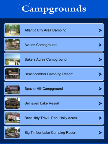 New Jersey Campgrounds & RV Parks screenshot 7