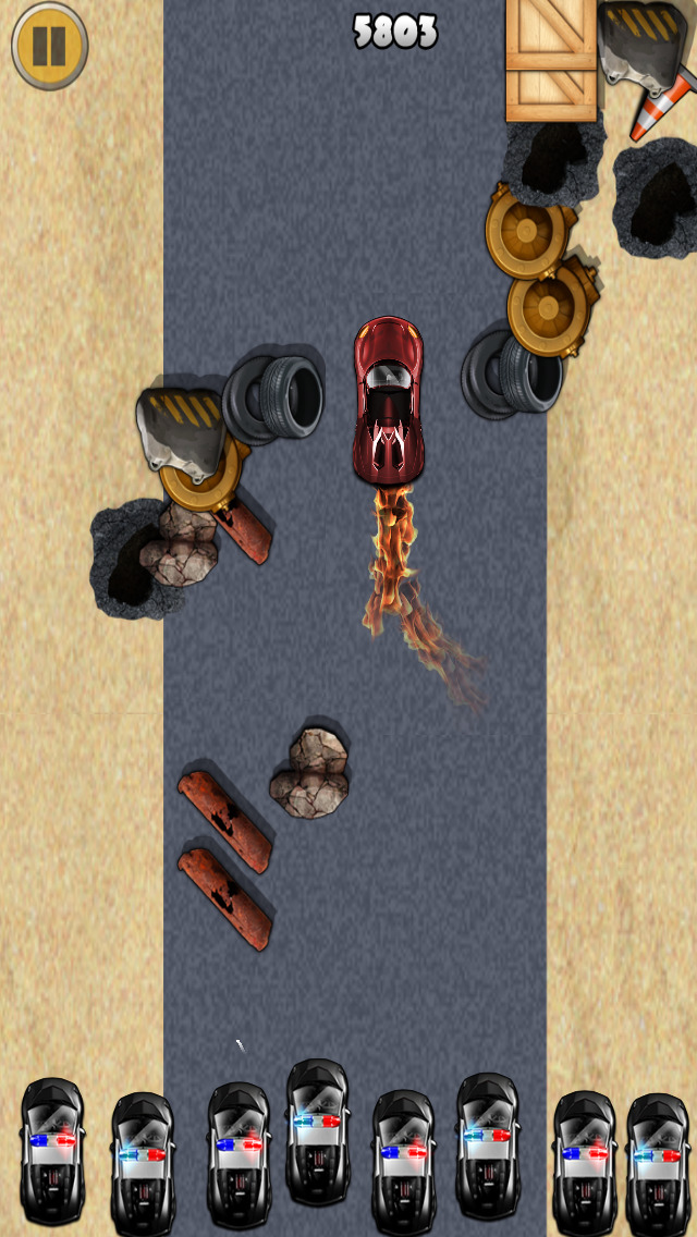 ``Action of Offroad Car Racing: Police Chase Driving Free screenshot 3