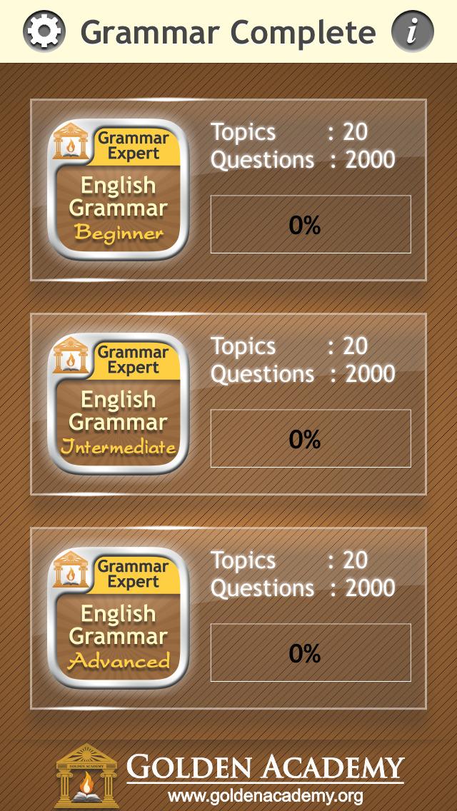 Grammar Expert : English Grammar Complete screenshot 2