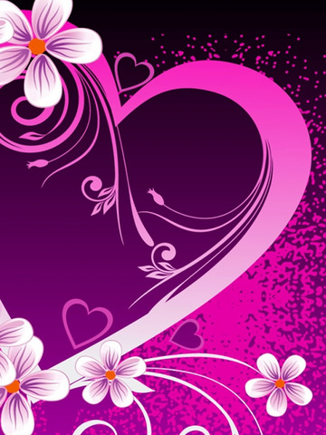Cute Girly Wallpapers - Pink & Floral Pictures HD screenshot 9