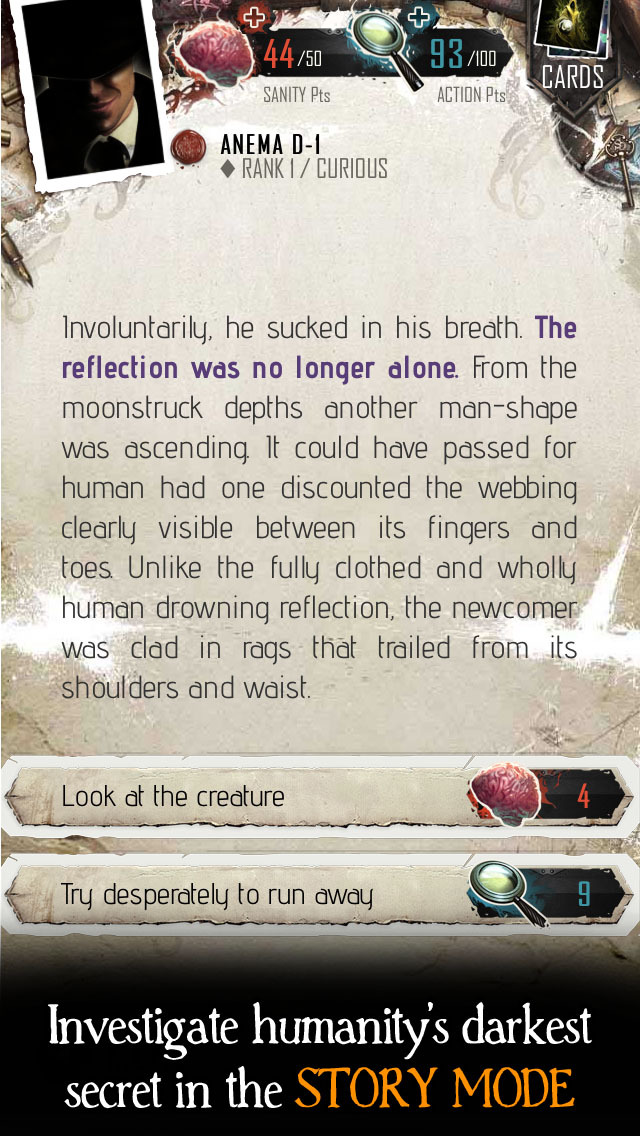 The Moaning Words - Trading Card Game in the Cthulhu Mythos screenshot 4