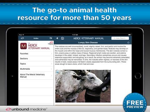 Merck Veterinary Manual screenshot 6