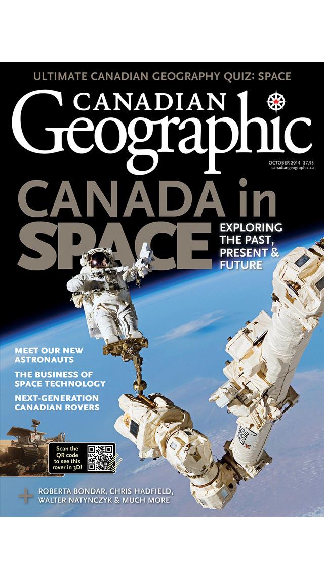 Canadian Geographic screenshot 1