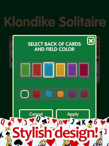 Klondike Solitaire PRO! screenshot 10