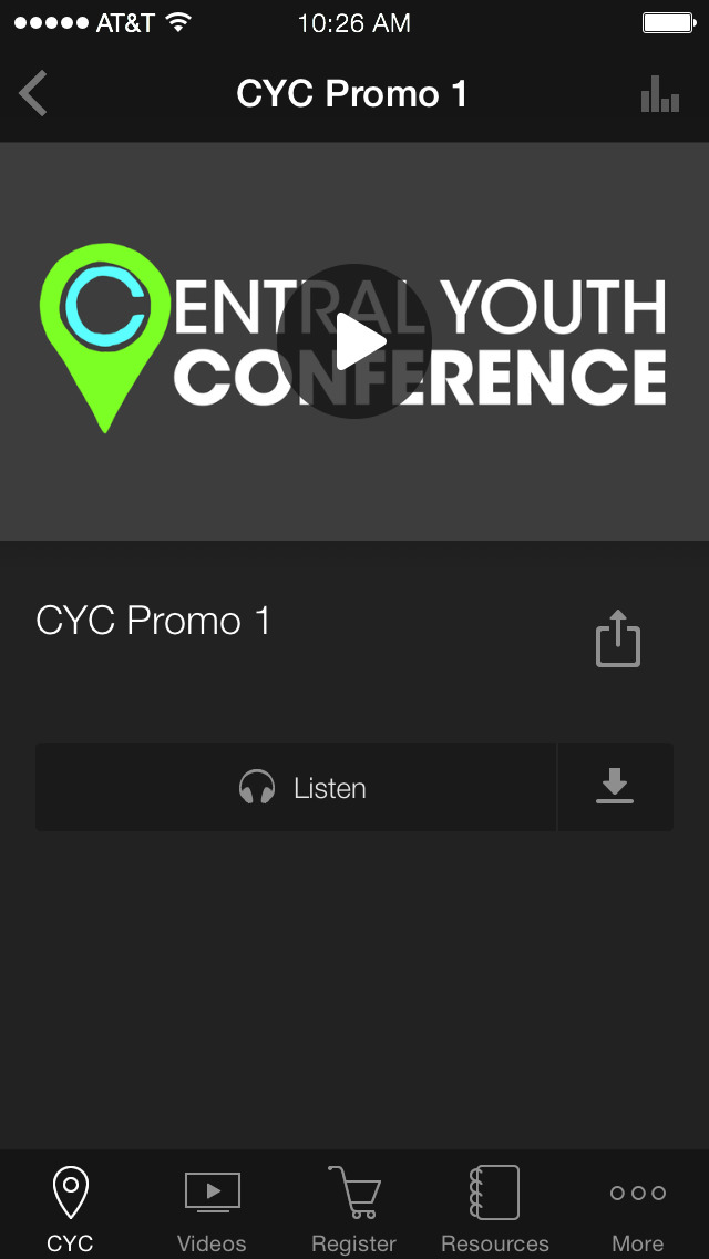 Central Youth Conference screenshot 3