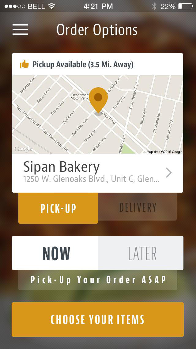 Sipan Bakery screenshot 2