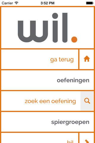 Wil. App - náhled