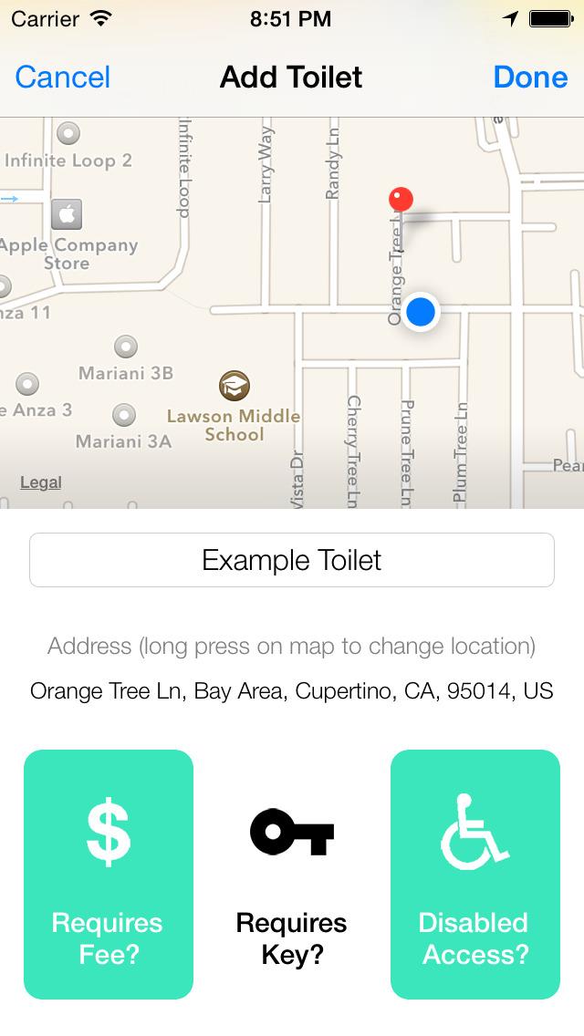 Flush - Toilet Finder & Map screenshot 3