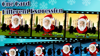 My Face Christmas Card (Animated) screenshot 3