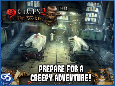 9 Clues: The Ward HD (Full) screenshot 1