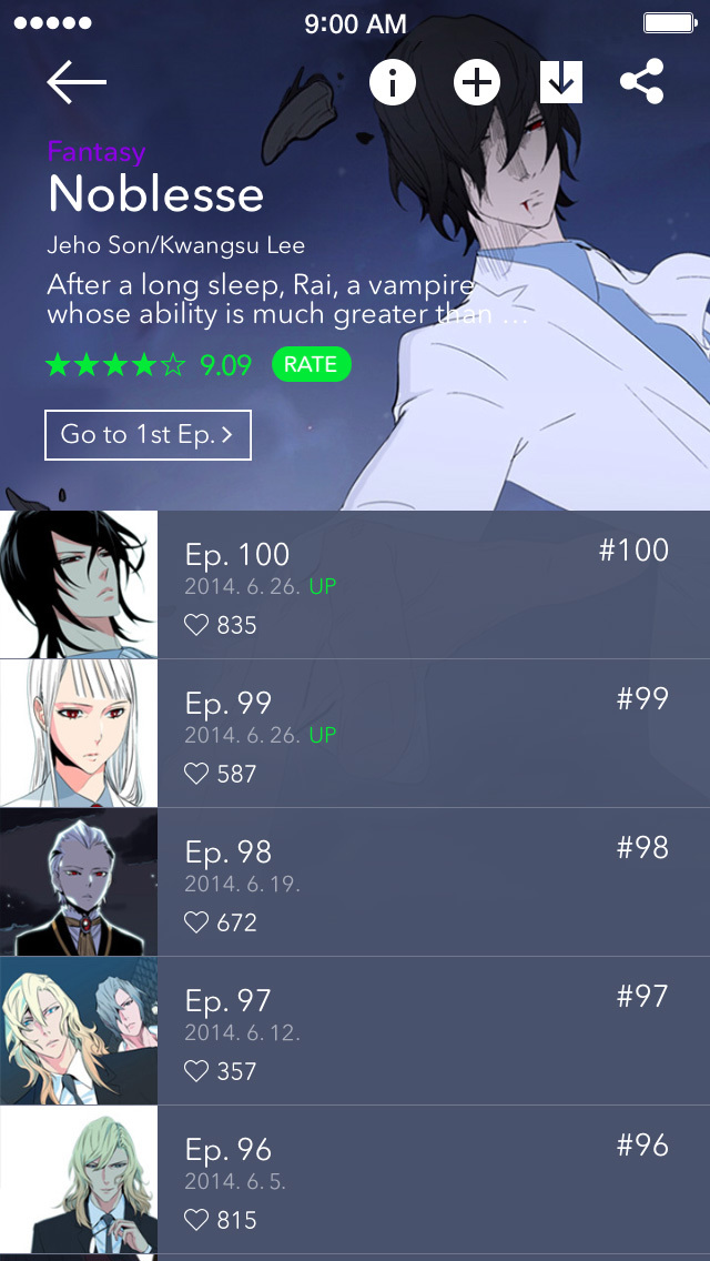 WEBTOON: Comics screenshot 2