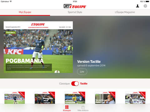 MyL'Équipe - Votre journal, mais en numérique ! screenshot 6