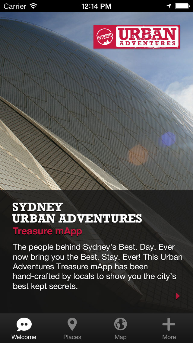 Sydney Urban Adventures - Travel Guide Treasure mApp screenshot 1