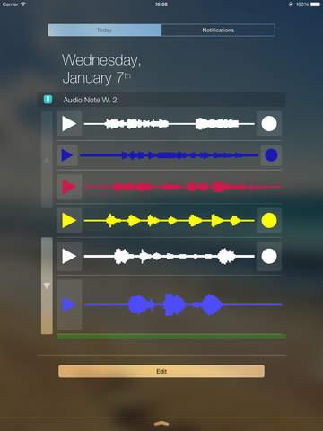 Audio Note Widget screenshot 7