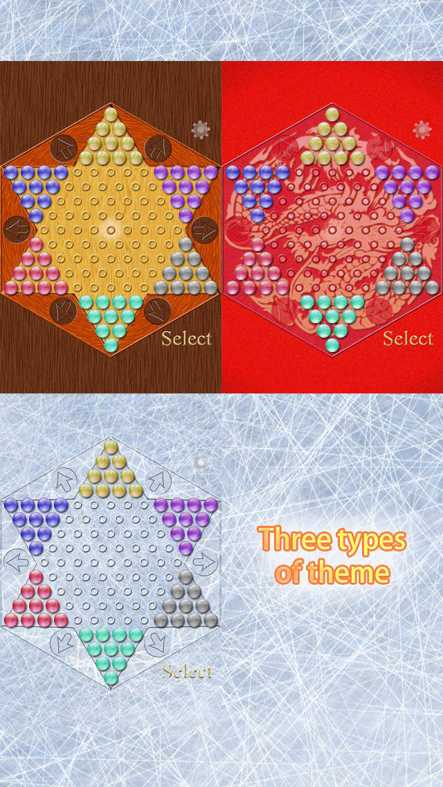 Realistic Chinese Checkers screenshot 3