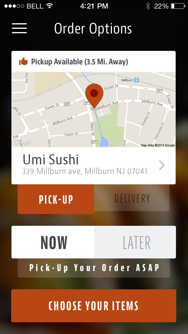 Umi Sushi screenshot 2