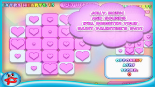 Valentine Hearts Collapse Game screenshot 4