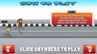 ` Hipster Race Running Battle Competition Games Work-out Free Fun screenshot 2