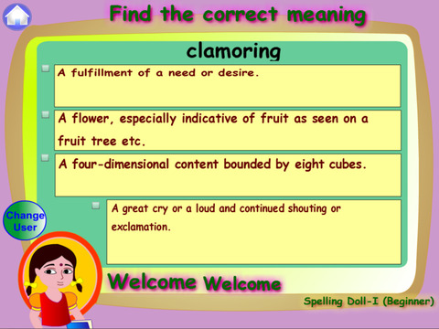 Spelling Doll1 Lite for Spelling Competitions screenshot 5
