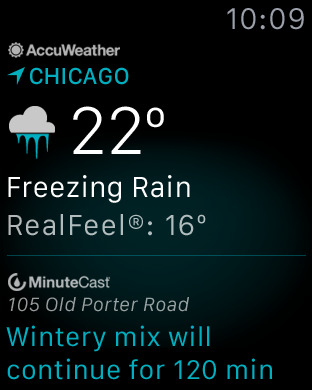 AccuWeather: Weather forecast screenshot 13