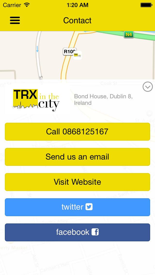 TRX in the city screenshot #1