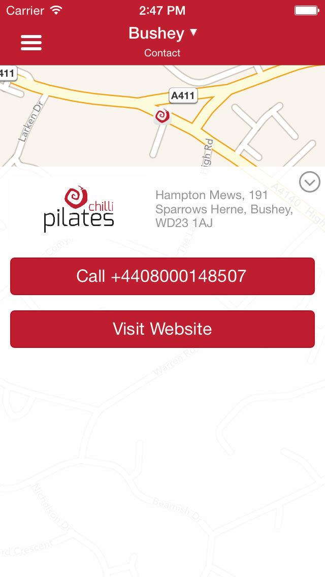 Chilli Pilates screenshot #2