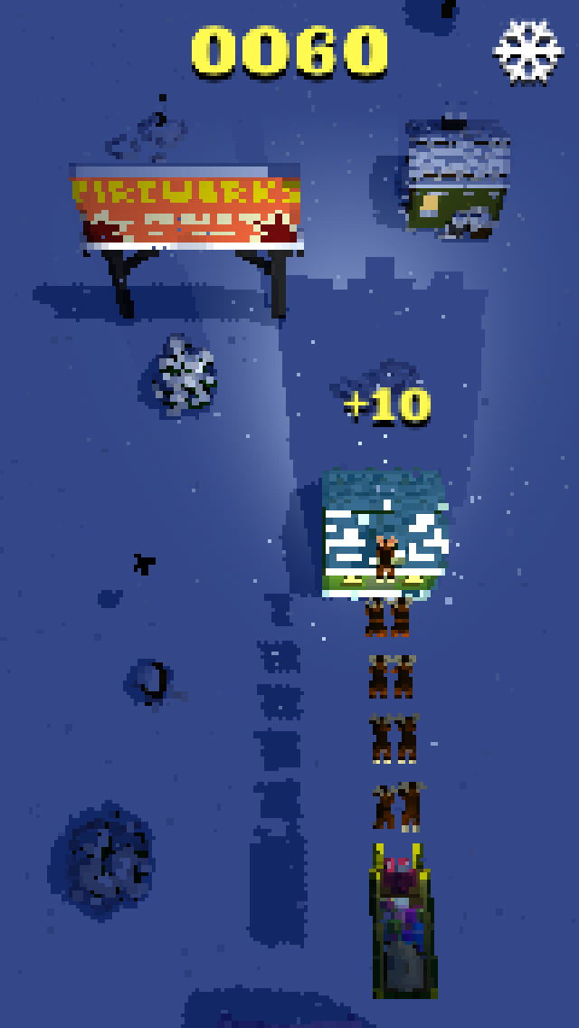 Santa Drop - Free screenshot 4