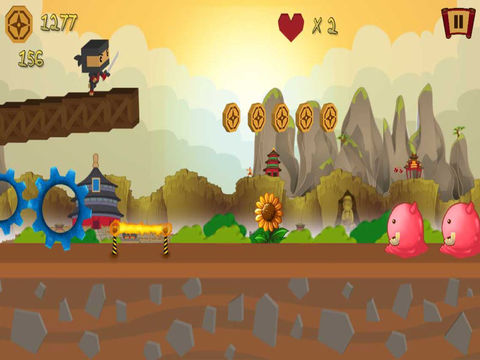 A Block Ninja Assassin PRO - Full Ninjas Warrior Fighter Version screenshot 6
