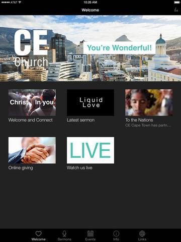 CECT: Christ Embassy Cape Town screenshot 4