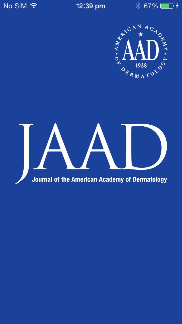 JAAD Journals screenshot 1