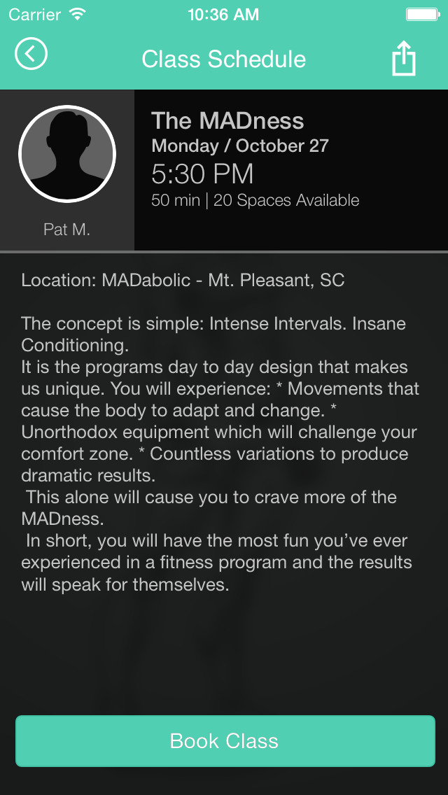 MADabolic Inc. screenshot #4