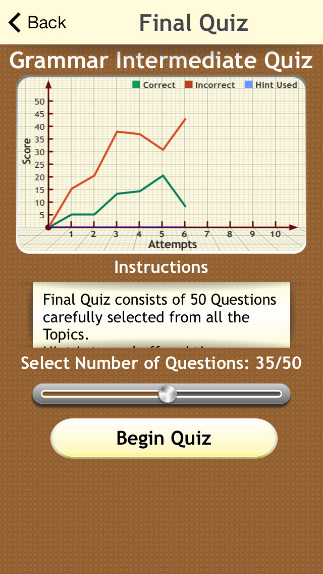 Grammar Expert : English Grammar Intermediate screenshot 3