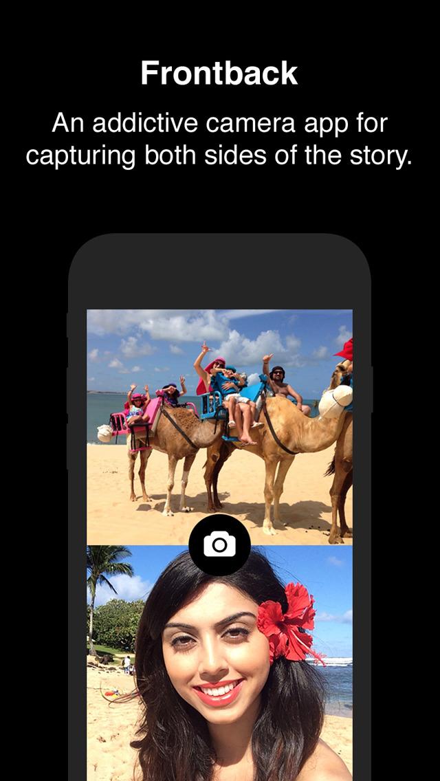 Frontback - Social Photos screenshot 1