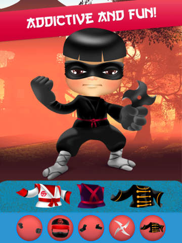 My Epic Ninja Superheroes World Fighter Club Game screenshot 7