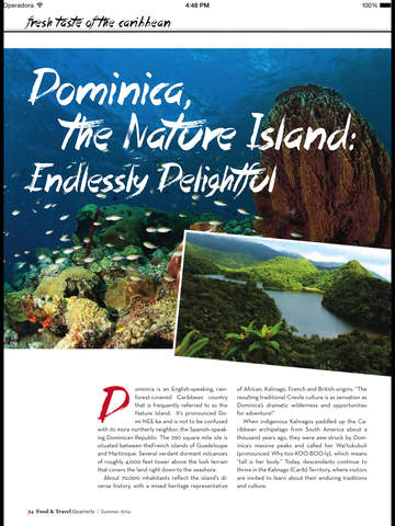 Food and Travel Quarterly Mag screenshot 10