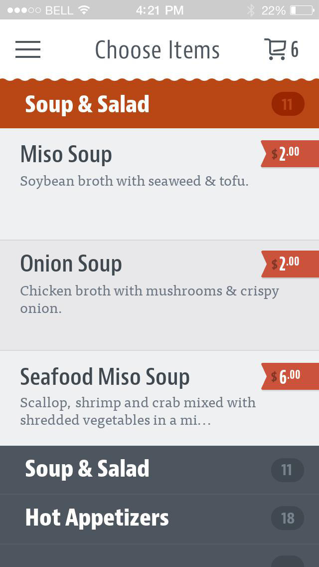 Midori Sushi & Steak screenshot 3