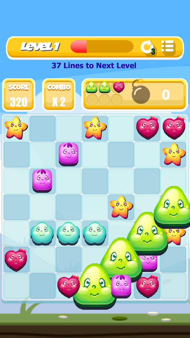 Yummy Swap - Match 4 Puzzle Game screenshot 4