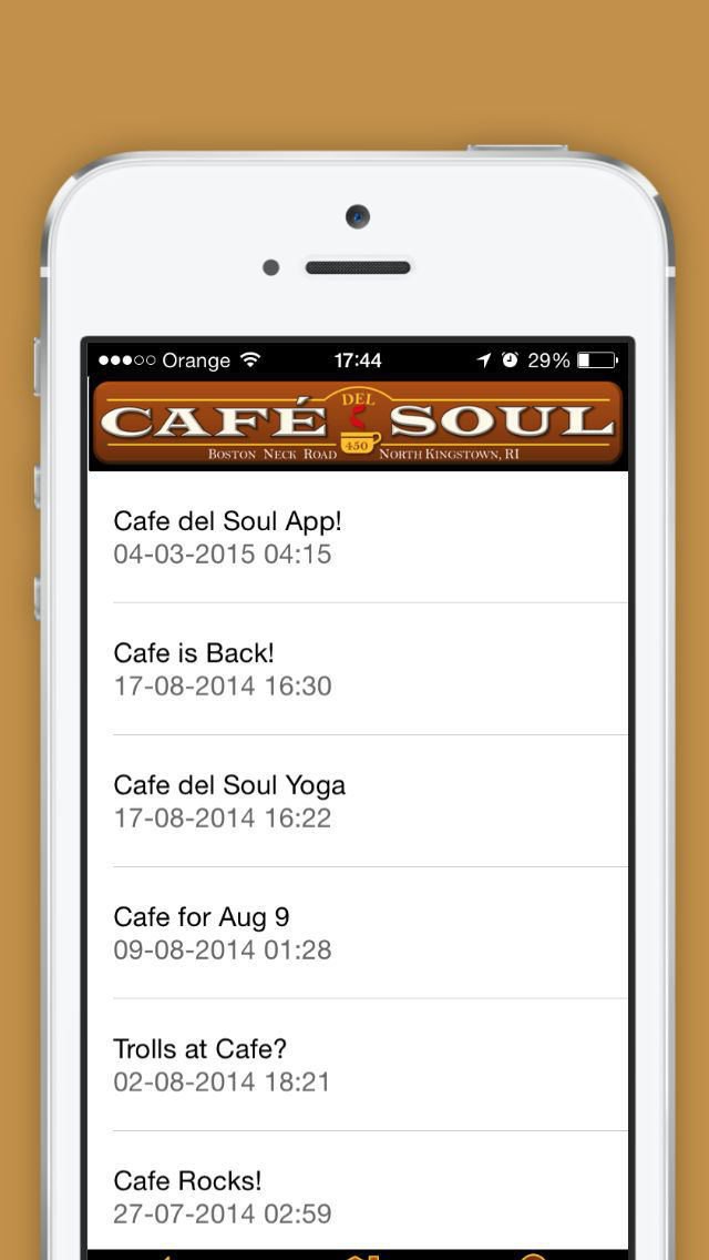 Cafe del Soul - Coffee house-style screenshot 4