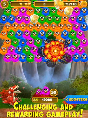 Bubble Birds 4: Match 3 Puzzle Shooter Game screenshot 7
