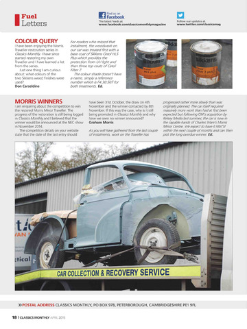 Classics Monthly Magazine screenshot 5
