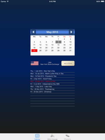 stock holiday - náhled