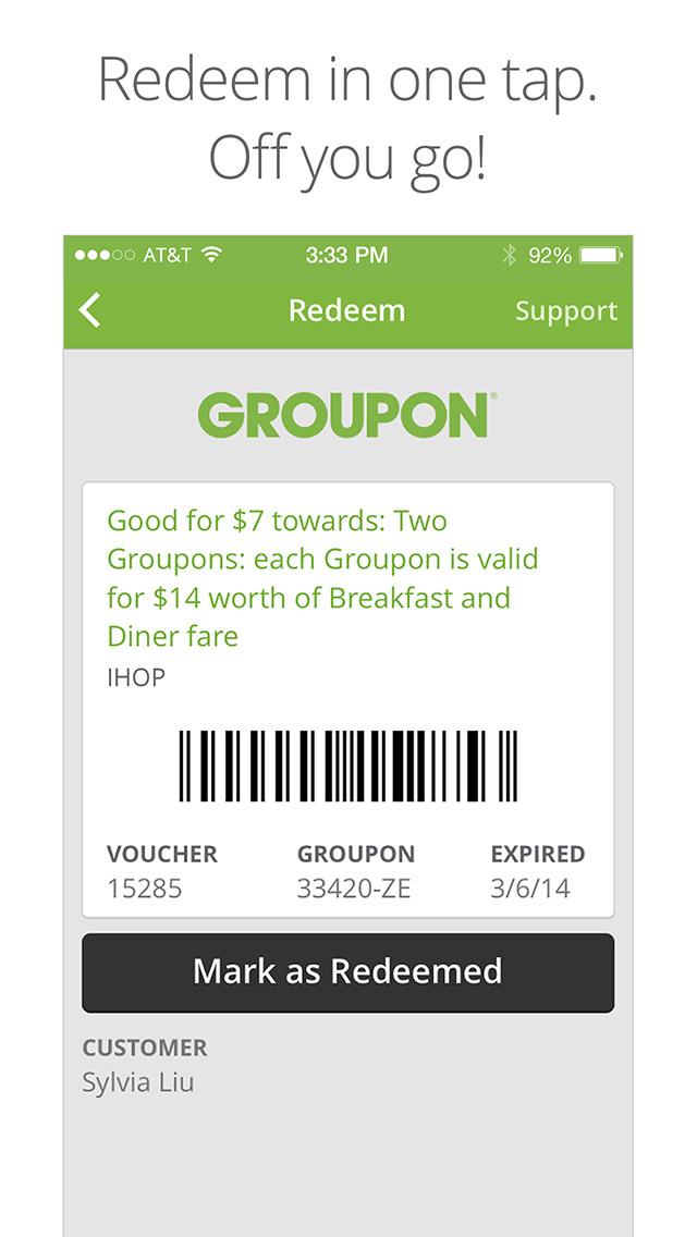 Groupon screenshot 5