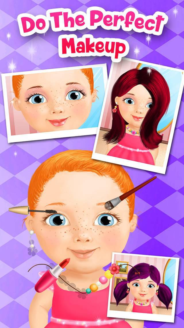Sweet Baby Girl Beauty Salon - No Ads screenshot 5