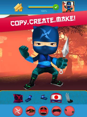 My Mega Power Ninja Hero Design & Copy Crazy Game - Pro screenshot 9