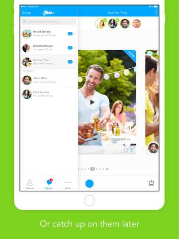Glide - Live Video Messenger screenshot 8