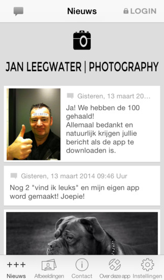 Jan Leegwater Photography screenshot 1