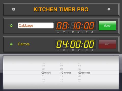 Kitchen Timer Pro screenshot 10