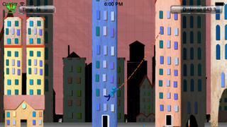 Stickman Agent : Flight Racing In The City screenshot 2
