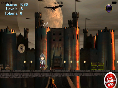 Red Ball Medieval Bouncing PRO : Avoid Spikes screenshot 9